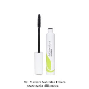 Felicea, naturalna maskara do rzęs – silikonowa szczoteczka 10g