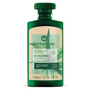 Herbal Care, szampon regenerujący – Konopie z proteinami 330ml