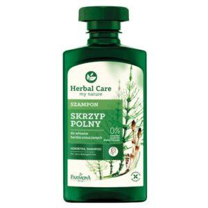 Herbal Care, szampon do włosów bardzo zniszczonych – Skrzyp Polny 330ml