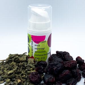 La-Le (frojo), krem pod oczy Szparagi – Żurawina – Zielona Herbata 15ml