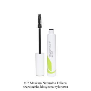 Felicea, naturalna maskara do rzęs – nylonowa szczoteczka 10g