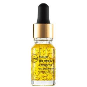 Le-Le, serum do twarzy i dekoltu z 23 karatowym złotem 15ml