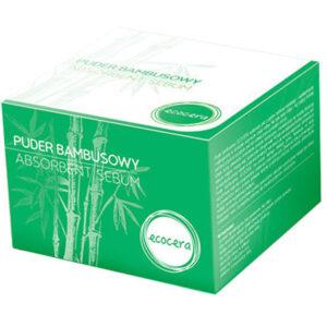 Ecocera, transparentny puder bambusowy 8g